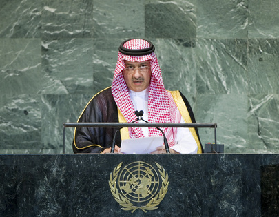 Vice Foreign Minister of Saudi Arabia Addresses General Assembly