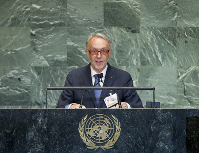 Foreign Minister of Monaco Addresses General Assembly