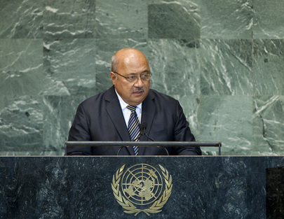 Foreign Minister of Fiji Addresses General Assembly