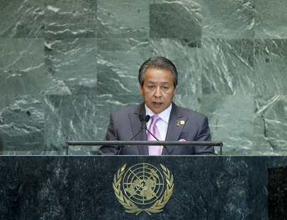 Foreign Minister of Malaysia Addresses General Assembly