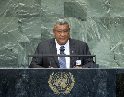Foreign Minister of Tuvalu Addresses General Assembly