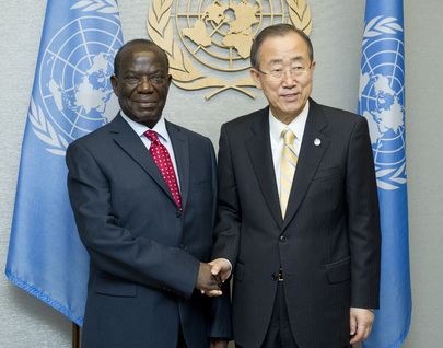 Secretary-General Meets Vice-President of Uganda