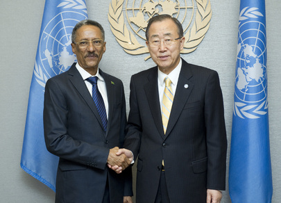 Secretary-General Meets Foreign Minister of Mauritania