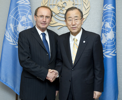 Secretary-General Meets Vice-President of European Parliament