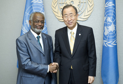Secretary-General Meets Foreign Minister of Sudan