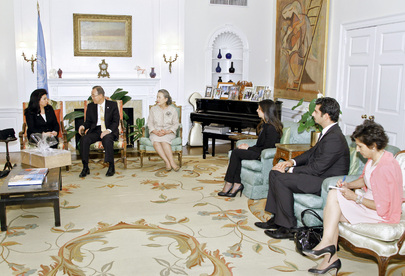 Secretary-General Meets Members of Hariri Family