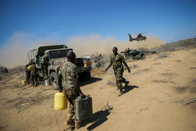 AMISOM and National Army Gain Ground on Shabaab in Southern Somalia
