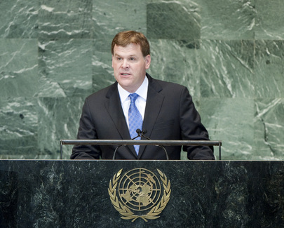 Foreign Minister of Canada Addresses General Assembly