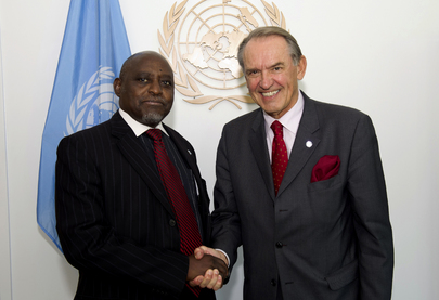 Deputy Secretary-General Meets Foreign Minister of Botswana