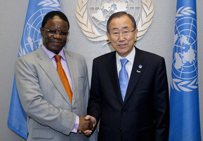 Secretary-General Meets Foreign Minister of Congo
