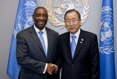 Secretary-General Meets Foreign Minister of Mozambique