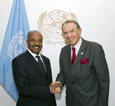 Deputy Secretary-General Meets Foreign Minister of Eritrea