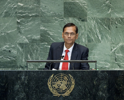 Foreign Minister of Sri Lanka Addresses General Assembly