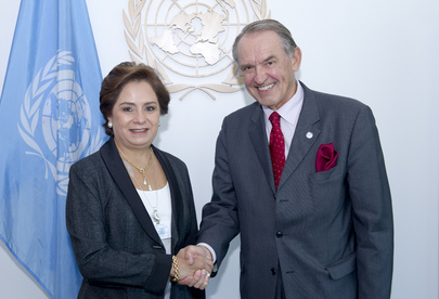 Deputy Secretary-General Meets Foreign Minister of Mexico