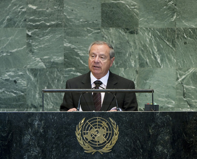 Foreign Minister of Costa Rica Addresses General Assembly