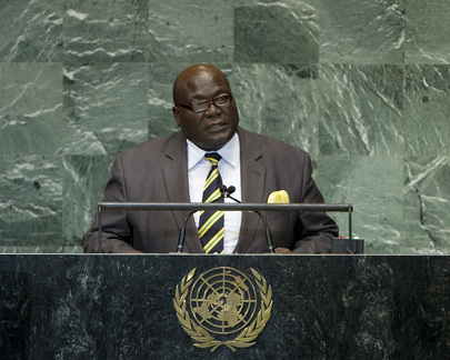 Foreign Minister of Togo Addresses General Assembly