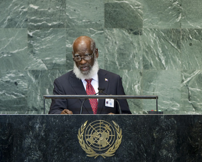 Minister for Foreign Affairs of Belize Addresses General Assembly