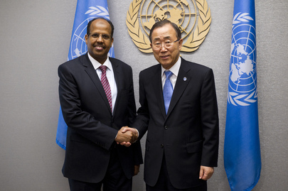 Secretary-General Meets Foreign Minister of Djibouti