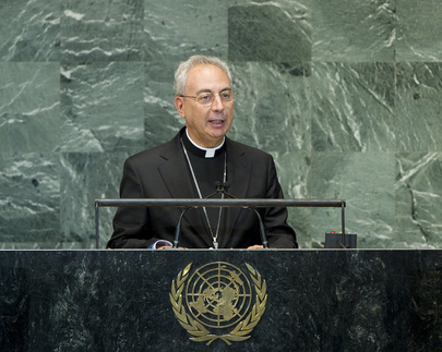 Foreign Secretary of Holy See Addresses General Assembly