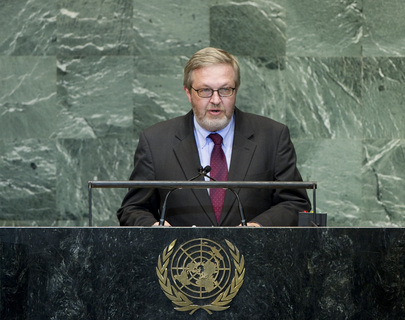 Permanent Representative of Denmark Addresses General Assembly