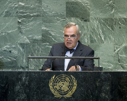 Permanent Representative of Portugal Addresses General Assembly