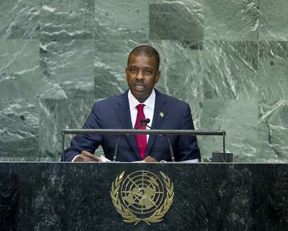 Permanent Representative of Dominica Addresses General Assembly