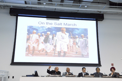 UN Celebrates Non-Violence Day in Memory of Gandhi