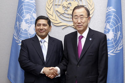Secretary-General Meets Foreign Minister of Nepal