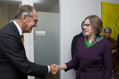 Deputy Secretary-General Meets Finnish International Development Minister