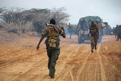 A.U. Forces Move through Southern Somalia