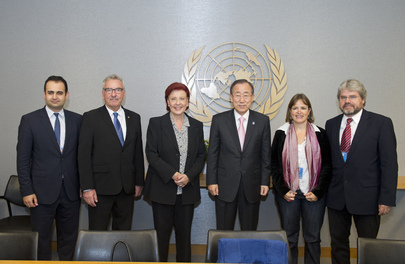 Secretary-General Meets German Parliamentary Subcommittee on UN
