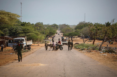 A.U. Conducts Security Sweeps after Shabaab Exit from Kismayo