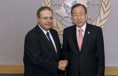 Secretary-General Meets New Representative for Libya