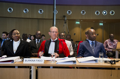 World Court Opens Public Hearings in the Frontier Dispute between Burkina Faso and Niger