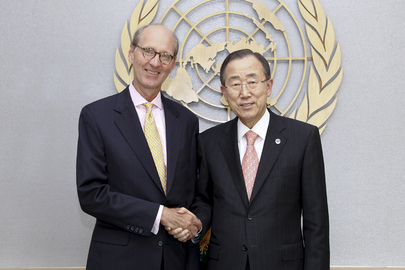 Farewell Call by Chief Speechwriter for Secretary-General