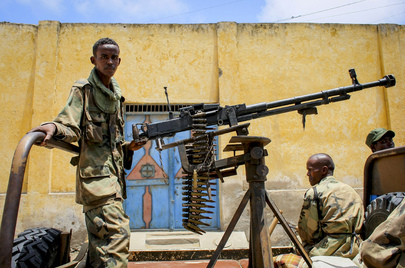 Joint Government and Pro-Government Forces in Kismayo, Somalia