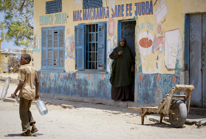Market in Southern Somalia's Kismayo