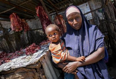 Market Vendor in Kismayo, Southern Somalia