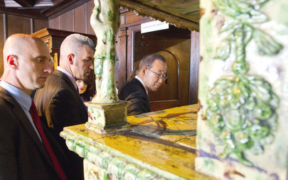 Secretary-General Visits Alsatian Museum in Strasbourg