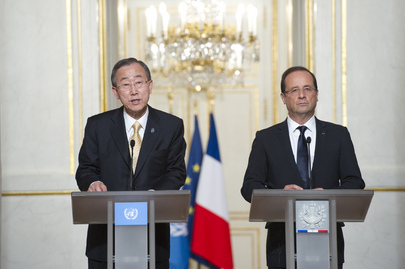 Secretary-General Meets French President