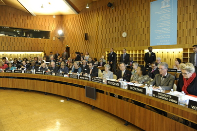 Secretary-General Attends UNESCO Executive Board Meeting
