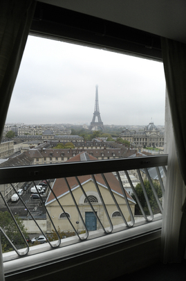 View of Paris from UNESCO Headquarters