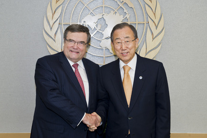 Secretary-General Meets Facilitator for Conference on Nuclear-Free Mideast Zone