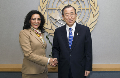 Secretary-General Meets Head of Latin American Nuclear Weapons Prohibition Agency