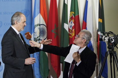 Permanent Representative of Syria Interviewed
