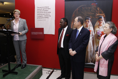 Child Marriage Exhibit Opens on Inaugural Day for Rights of Girls