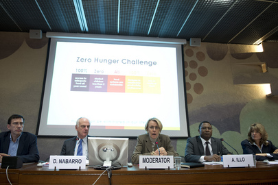 In Geneva, Looking ahead to World Food Day