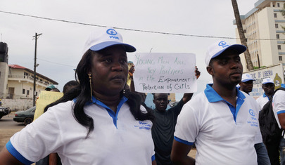 Liberians Rally to End Child Marriage