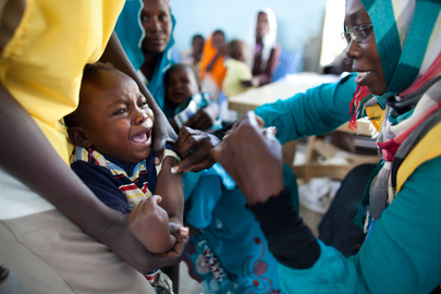Meningitis Vaccination Campaign Takes Off in Darfur