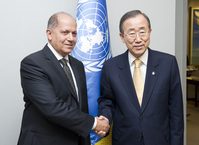 Secretary-General Meets Permanent Observer of Arab League